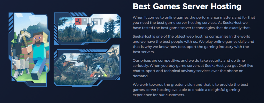 Review of SeekaHost Minecraft Server Hosting